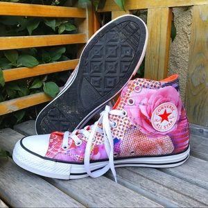 Converse Shoes - Converse Chucks All Stars Floral Print Hightops